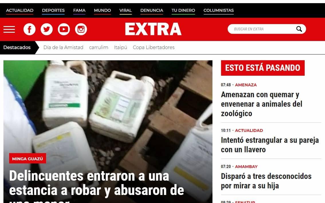 Diarios de paraguay Extra