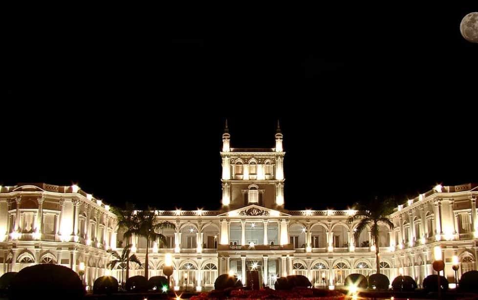 Palacio de los López Asunción imponente vista