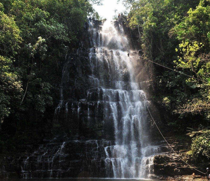 Naturaleza en Paraguay Salto Cristal