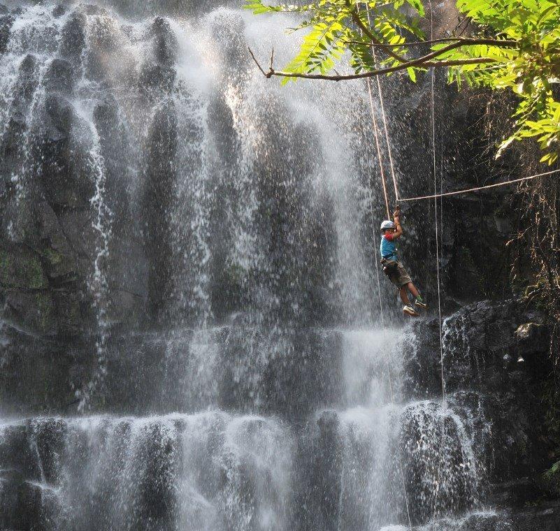 Naturaleza desde Paraguay Salto Cristal