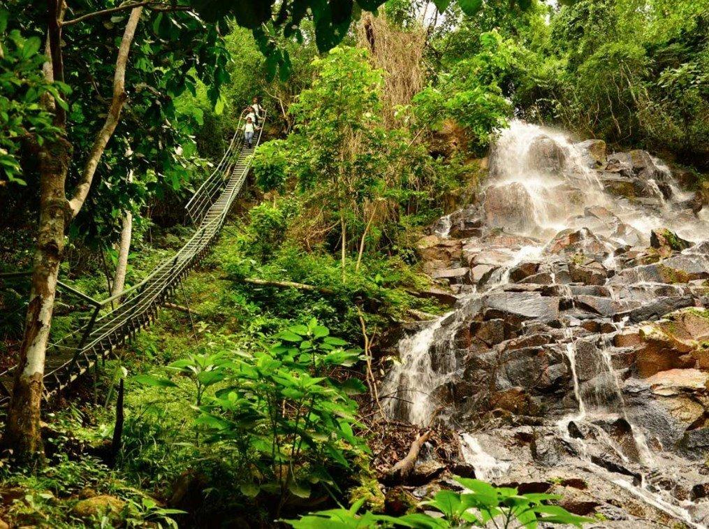 Naturaleza desde Paraguay - Salto karapá - Carapá