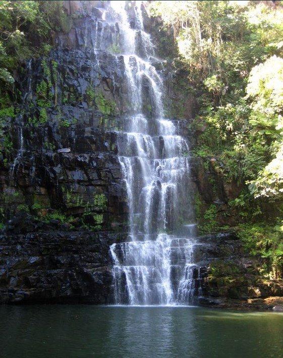 Naturaleza desde Paraguay Salto Suizo