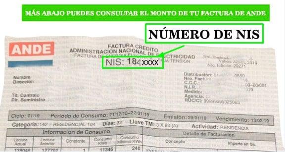 Ande Facturas Paraguay consulta tu factura por numero de nis Ande facturas 💡 Consultá el monto de tu factura con tu NIS AQUÍ 📱-Ande Facturas Paraguay consulta tu factura por numero de nis