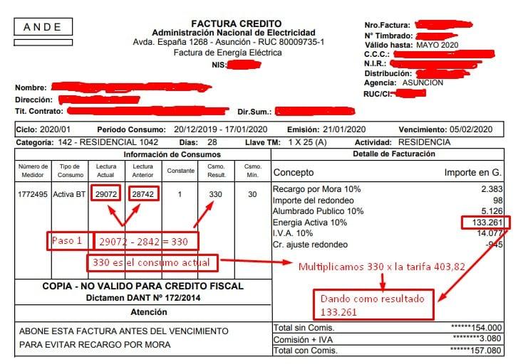 Ande Facturas como calcular mi consumo Ande facturas 💡 Consultá el monto de tu factura con tu NIS AQUÍ 📱-Ande Facturas como calcular consumo