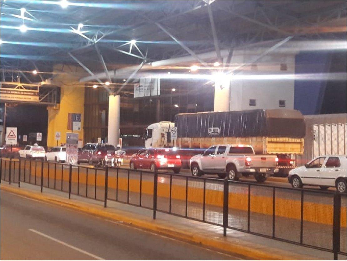 Coronavirus: Poco control en zona fronteriza con Brasil a primeras horas