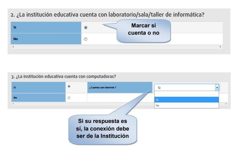 La institución educativa cuenta con laboratorio