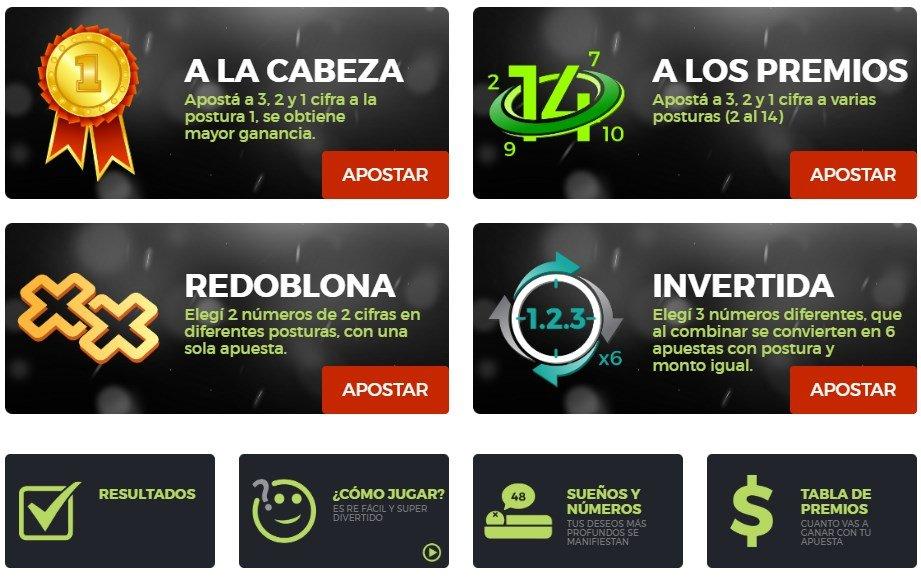 Quiniela teete Paraguay resultados hoy y ayer premios