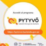 Pytyvõ Hacienda nuevos pagos arranca el lunes 1 de junio